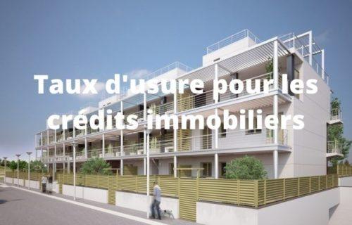 Crédit immobilier : Baisse des taux…